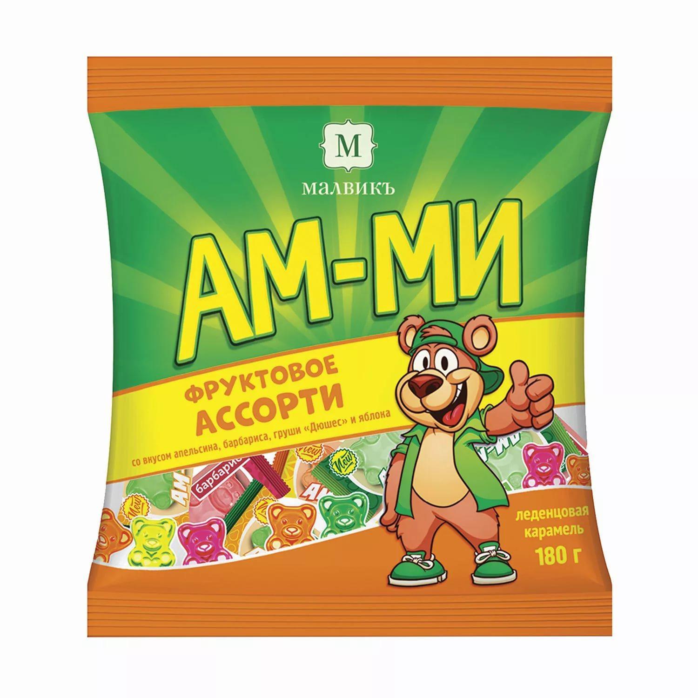 Конфеты Ам-Ми карамель леденцовая