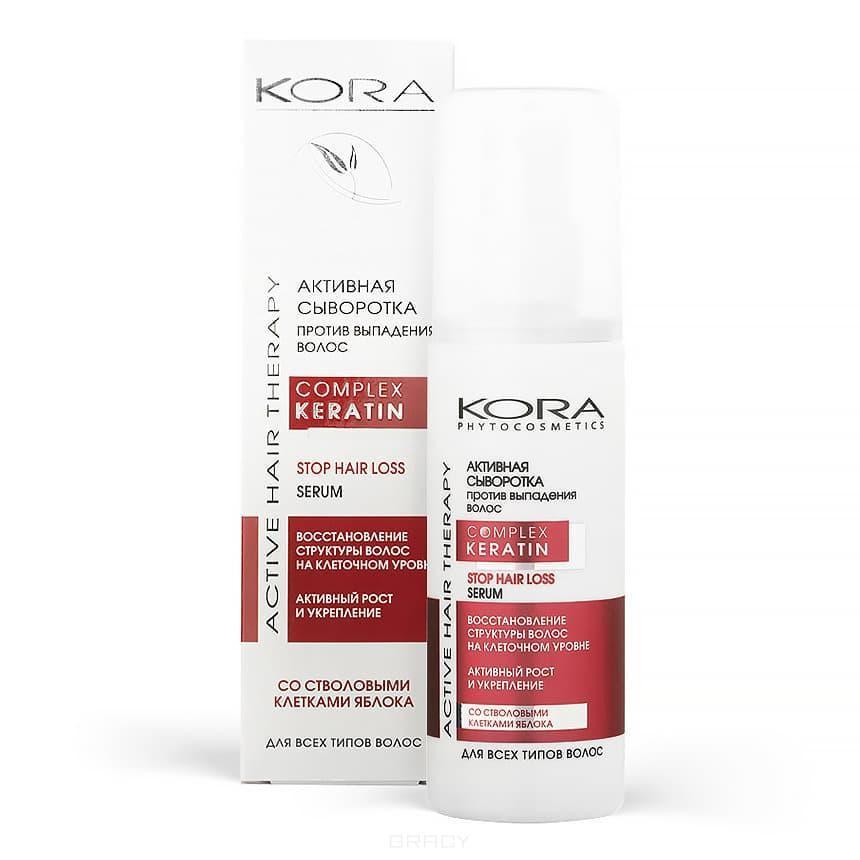 Сыворотка для волос Против выпадения, Kora, 100 мл., картонная коробка