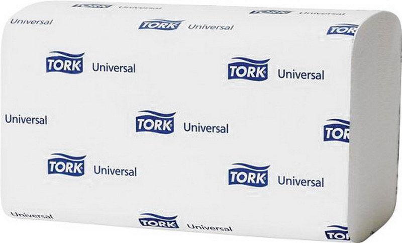 Полотенца Tork Universal ZZ бумажные Белые 250 листов 1 слой