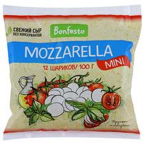 Сыр Bonfesto Mozzarella mini 45%