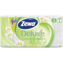 Туалетная бумага Zewa Deluxe Ромашка 3 слоя 8шт.
