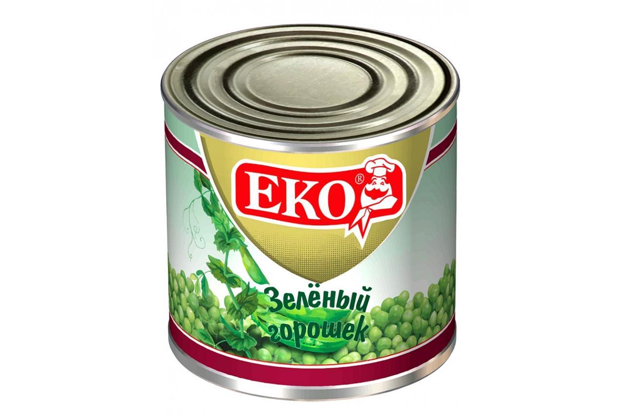 Горошек зеленый EKO