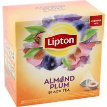 Чай черный Lipton Almond Plum 20 пакетов