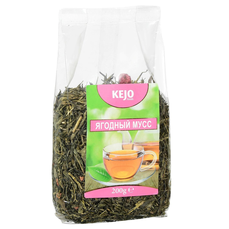 Чай зеленый Kejofoods Ягодный мусс