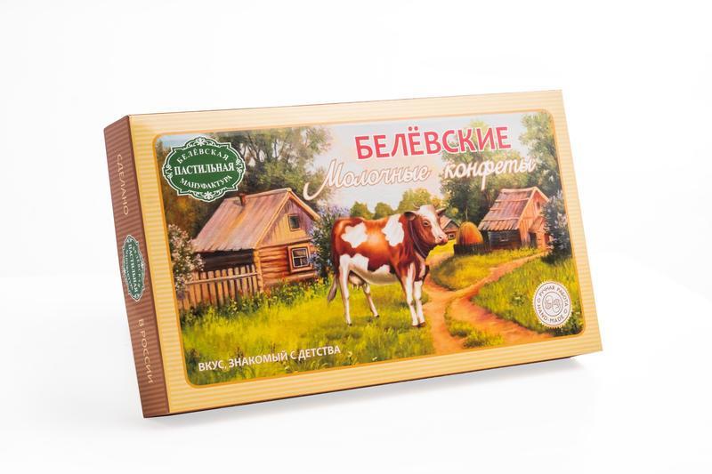 Конфеты Белёвская пастильная мануфактура Белевские молочные