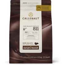Шоколад Callebaut тёмный для фонтанов 54,5%  2,5 кг.