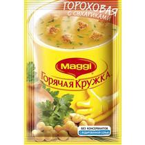 Суп Maggi горячая кружка гороховый с сухариками