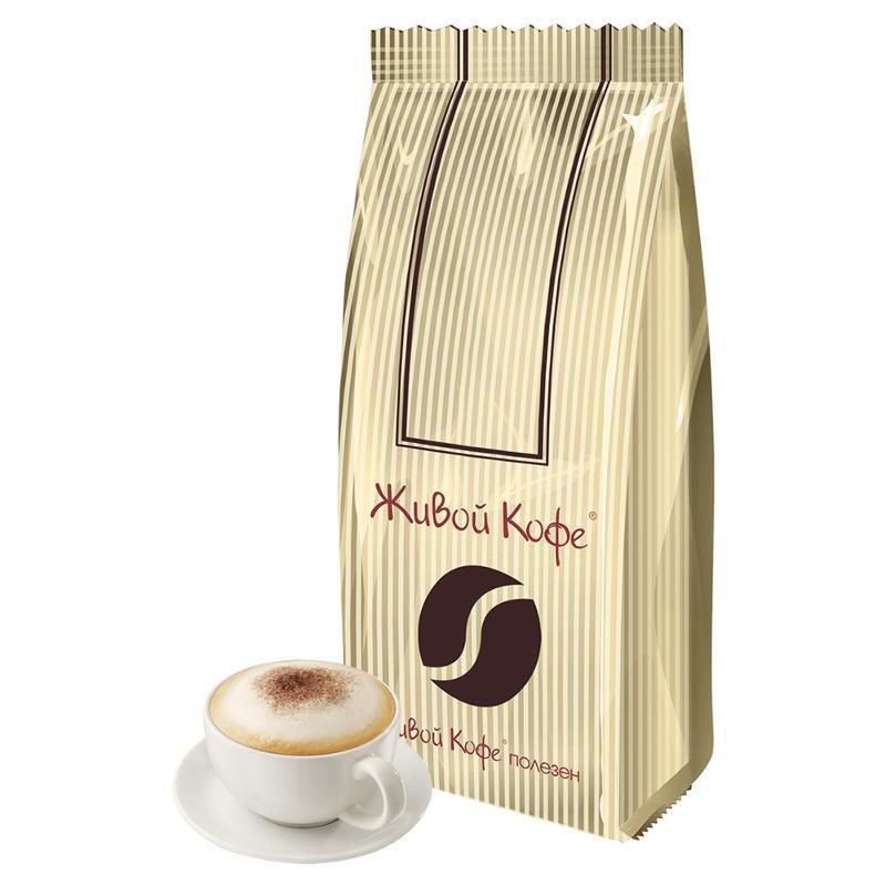 Кофе Живой Кофе Карамель тоффи в зернах