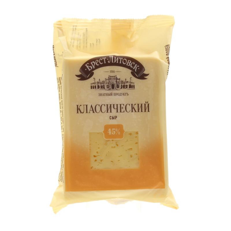 Сыр Брест - Литовск Классический 45%