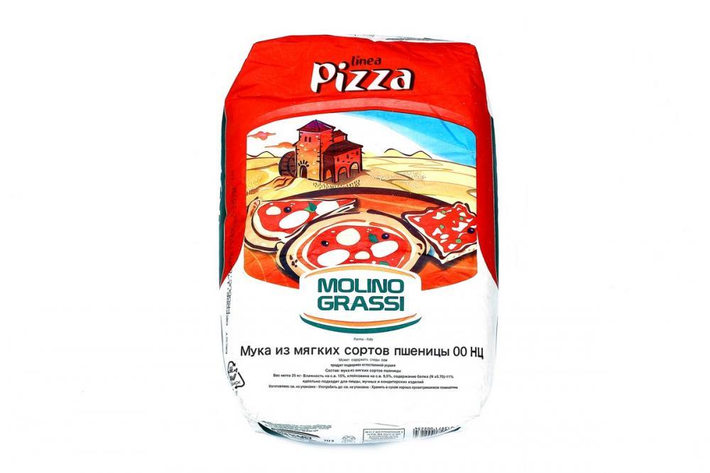 Мука Molino Grassi из мягких сортов 00 НЦ для пиццы