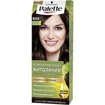 Крем-краска Palette Фитолиния для волос темно-каштановый 801