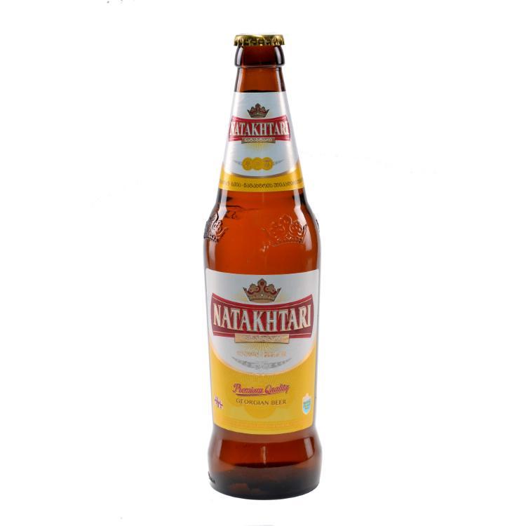 Пиво Натахтари светлое 5%