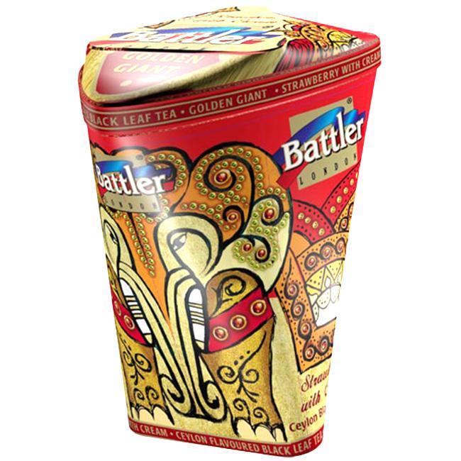 Чай Battler Golden Giant земляника со сливками