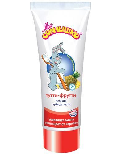 Зубная паста Мое солнышко тутти-фрутти