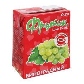 Напиток Фрутик Виноградный