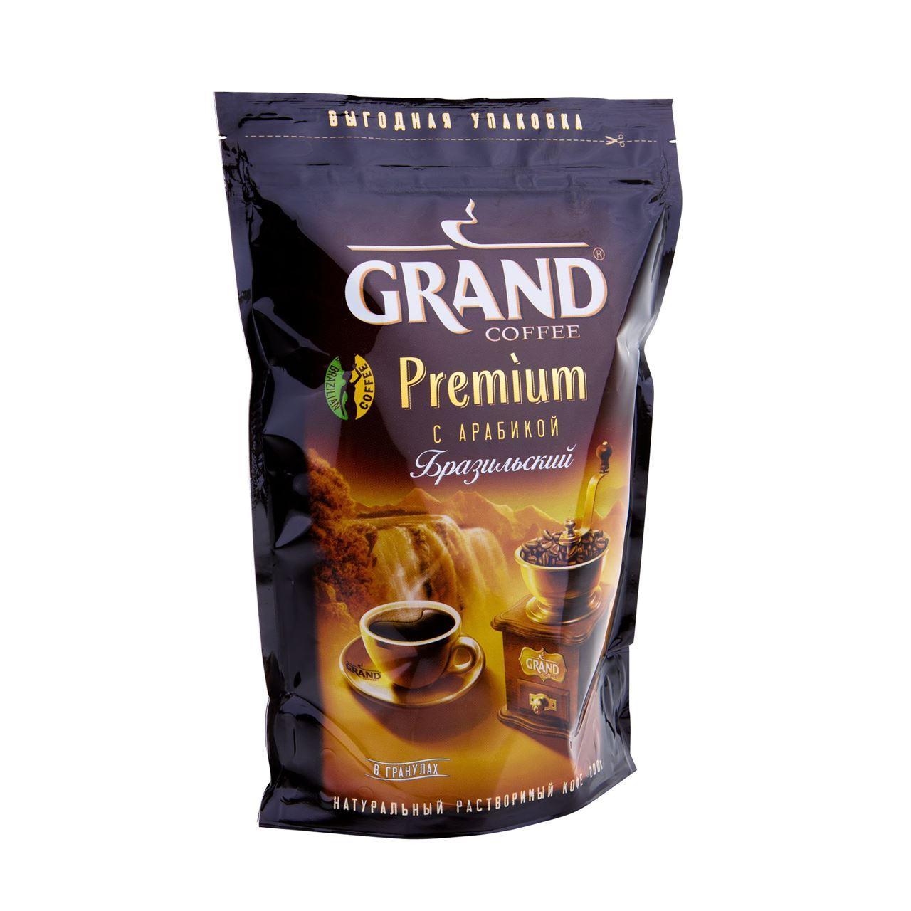 Кофе Grand сoffee Premium растворимый гранулированный 75 гр.