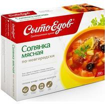 Суп солянка мясная по-Новгородски, Сытоедов