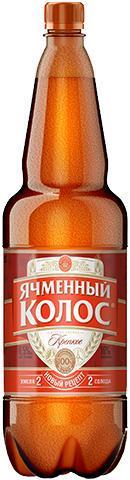 Пиво Ячменный Колос крепкое 7% 1.35 л