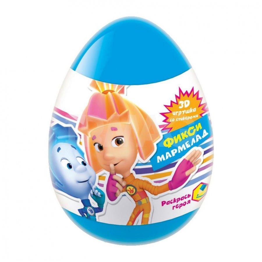 Мармелад Конфитрейд Фиксики в яйце с игрушкой