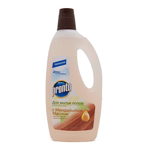 Средство для мытья полов Pronto c миндальным маслом
