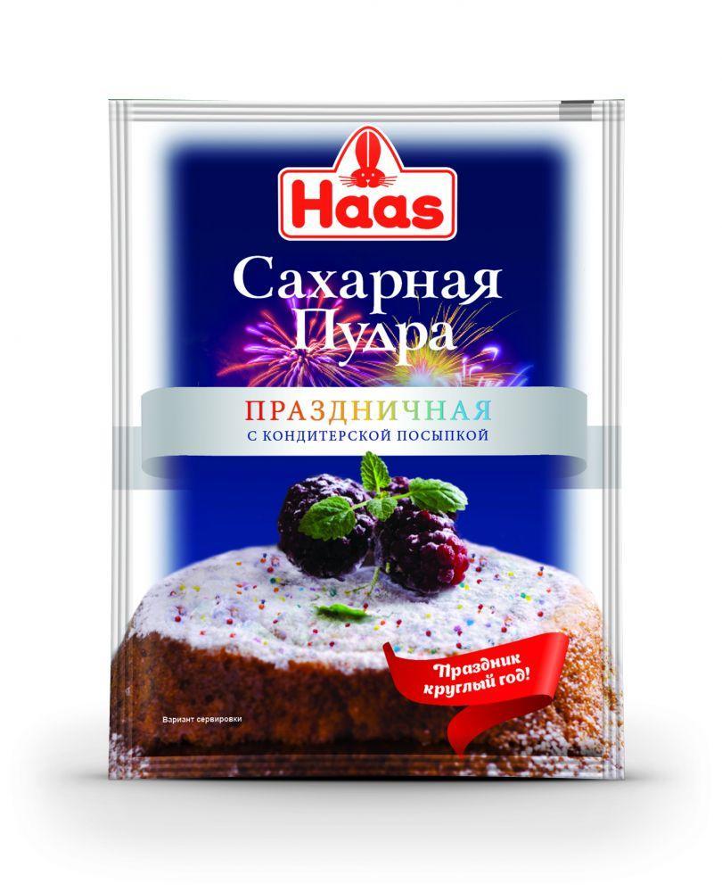 Сахарная пудра Haas Празничная