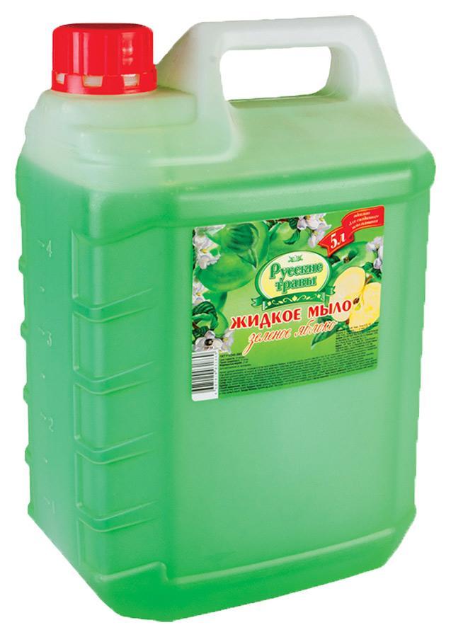 Мыло Русские травы Зеленый чай Жидкое