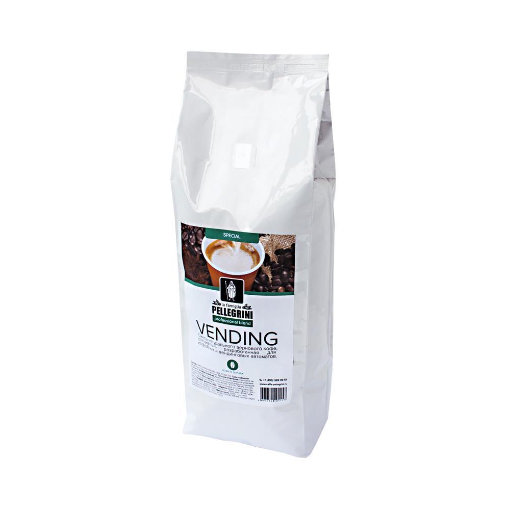 Кофе зерновой la famiglia Pellegrini VENDING blend (1000 г) м/у