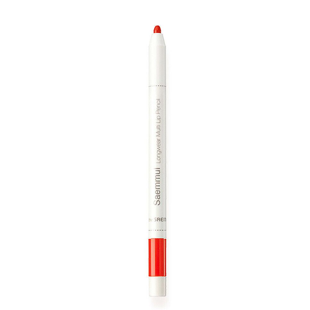 Карандаш The Saem для губ Saemmul Longwear Multi Lip Pencil OR01 Blood Orang