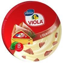Сыр плавленый Виола с бужениной 130г ф-24