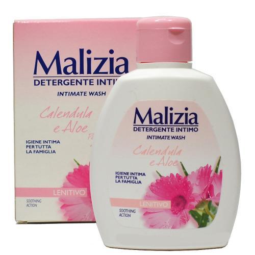 Гель Malizia для интимной гигиены календула и алоэ