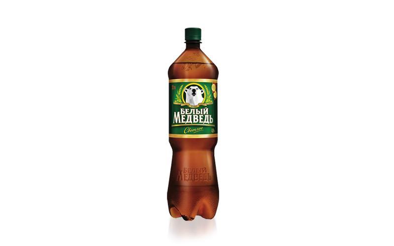 Пиво Белый Медведь Светлое 4,8%