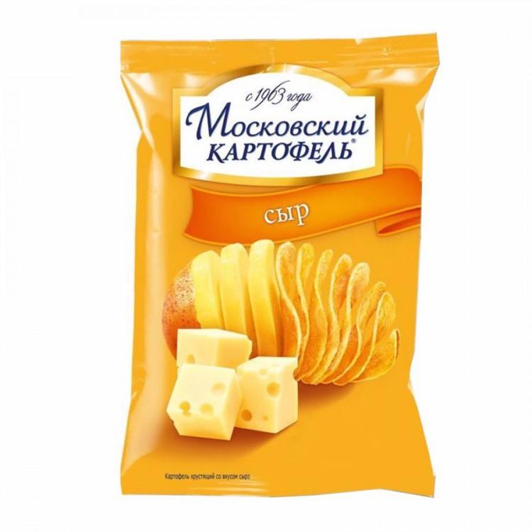 Чипсы Московский картофель Сыр