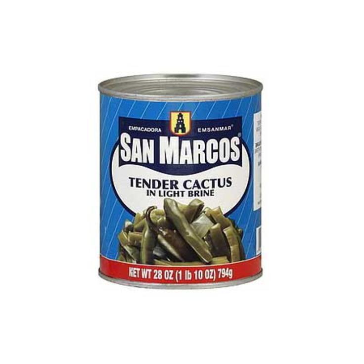 Кактус San Marcos маринованный в рассоле резаный ломтиками