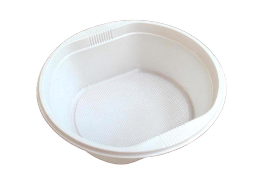Тарелка Атлас одноразовая пластиковая 500мл. 10шт.