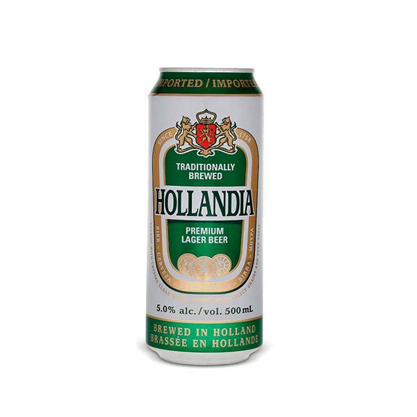 Пиво Hollandia светлое 4,8%