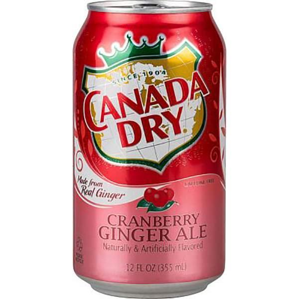 Напиток газированный Canada Dry Cranberry