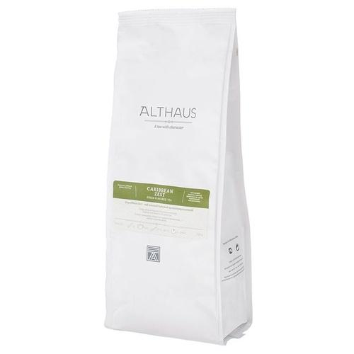 Чай зеленый листовой Althaus Caribbean Zest
