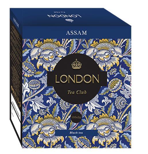 Чай London черный 100 пак.