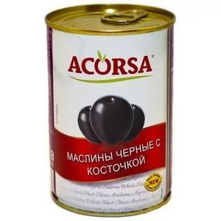 Маслины Acorsa крупные с косточкой