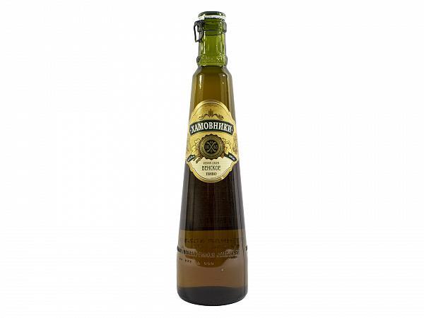 Пиво Хамовники Венское светлое пастеризованное фильтрованное 4,5%