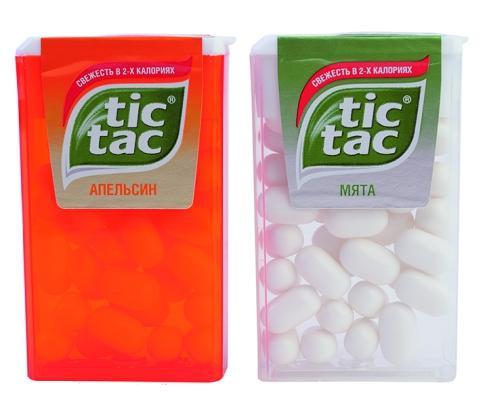 Драже Tic Tac апельсин + мята