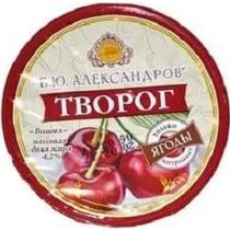 Творог Б.Ю.Александров вишня 4,2%