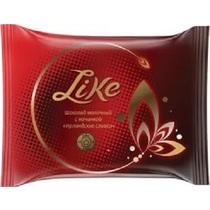 Шоколад Like молочный с начинкой ирландские сливки 100 г.