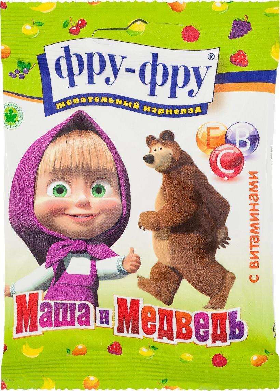 Мармелад Фру-Фру жевательный Маша и Медведь с витаминами