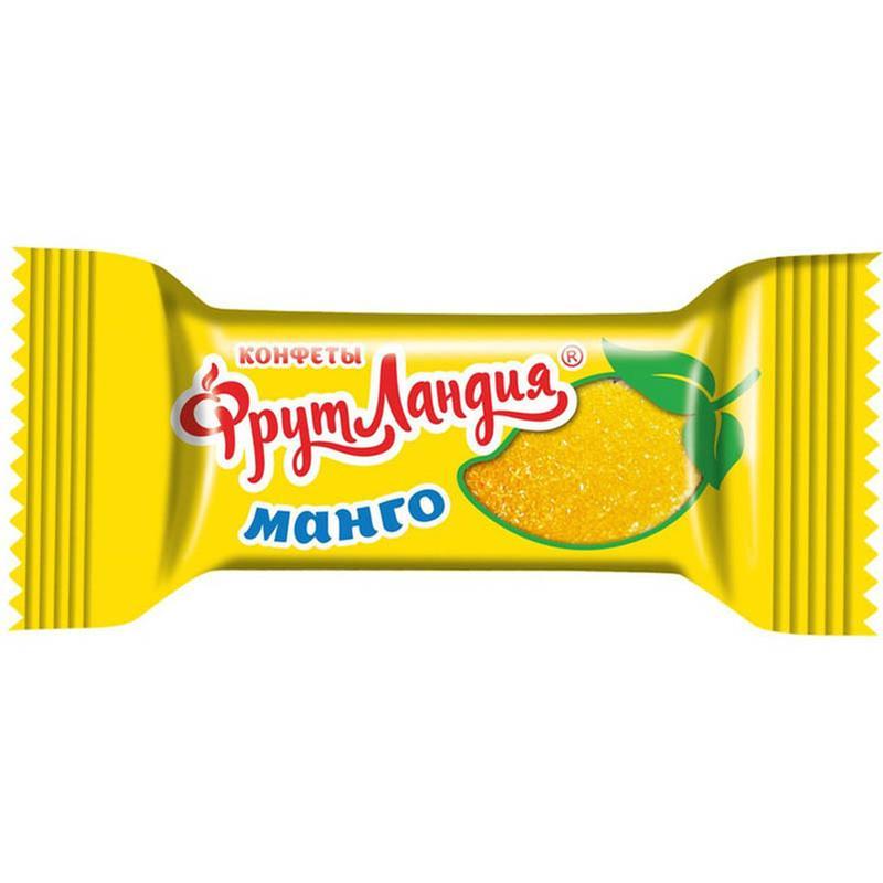 Конфеты Славянка фрутландия манго