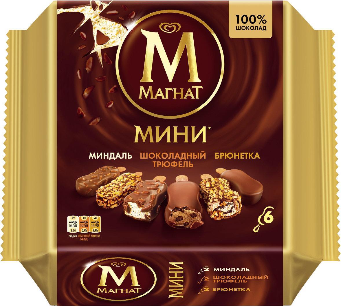 Мороженое Магнат Мини эскимо 6шт.