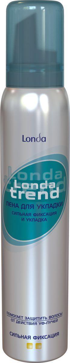 Пена для укладки волос Londatrend Сильная фиксация
