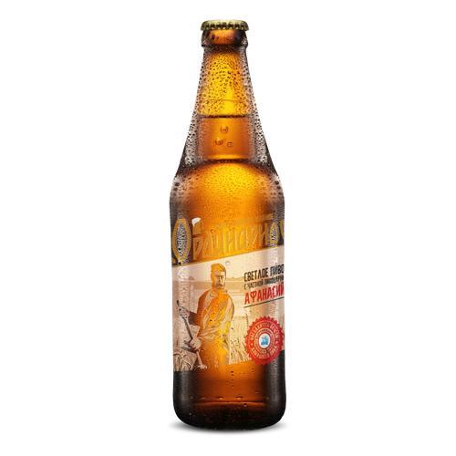 Пиво Афанасий Ординарное Домашнее светлое пастеризованное 4,5%