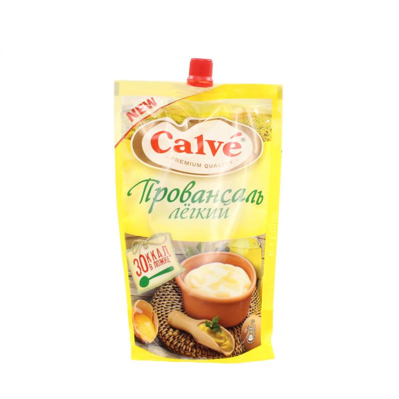 Майонез Calve легкий 20%