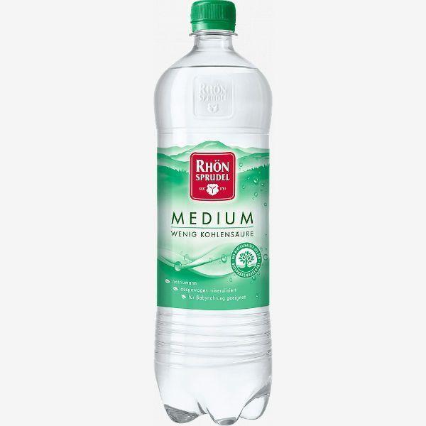 Вода минеральная Rhon Sprudel Medium слабогазированная